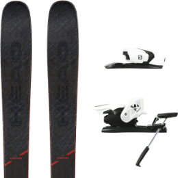 HEAD KORE 99 20 + SALOMON Z12 B90 WHITE/BLACK 21