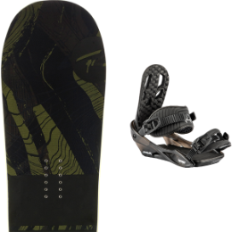 ROSSIGNOL JIBSAW WIDE 19 + NITRO CHARGER BLACK 21