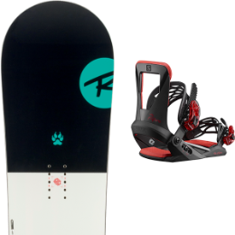 ROSSIGNOL ALIAS JR 19 + SALOMON THE FUTURE 20