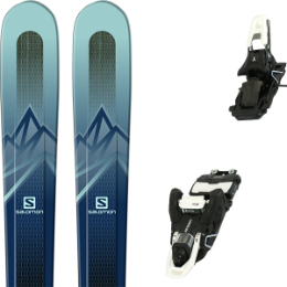 SALOMON MTN EXPLORE 88 W BLUE/BLUE 20 + ATOMIC SHIFT MNC 13 JET BLACK/WHITE 90 20