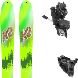 K2 WAYBACK 88 LTD 20 + DYNAFIT ST ROTATION 10 90MM BLACK KS 21