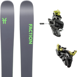 FACTION AGENT 2.0 20 + DYNAFIT ST RADICAL 10 100MM YELLOW 19
