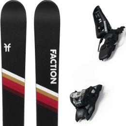 FACTION CANDIDE 5.0 20 + MARKER SQUIRE 11 ID BLACK 20