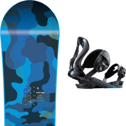 NITRO RIPPER YOUTH 20 + ROSSIGNOL COBRA BLACK S/M 19