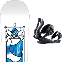 SALOMON GYPSY GROM 20 + ROSSIGNOL COBRA BLACK S/M 19
