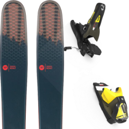 Collection ROSSIGNOL ROSSIGNOL SOUL 7 HD 20 + LOOK SPX 12 GW B90 KAKI/YELLOW 20 - Ekosport