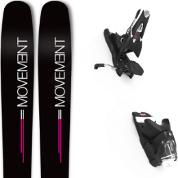 Boutique MOVEMENT MOVEMENT GO 100 WOMEN 19 + LOOK SPX 12 GW B90 BLACK 21 - Ekosport