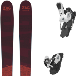 ZAG H96 20 + SALOMON WARDEN MNC 13 N WHITE/BLACK 20