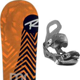 Boutique ROSSIGNOL ROSSIGNOL DISTRICT 20 + NIDECKER SKY BLACK 20  - Ekosport