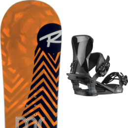 Snowboard ROSSIGNOL ROSSIGNOL DISTRICT 20 + SALOMON ALIBI BLACK 20 - Ekosport