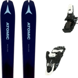 ATOMIC BACKLAND WMN 78 DARK BLUE/BLUE 20 + ATOMIC SHIFT MNC 13 JET BLACK/WHITE 90 20
