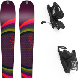 Pack ski K2 K2 MISSCONDUCT 19 + LOOK NX 12 GW B100 BLACK 21 - Ekosport