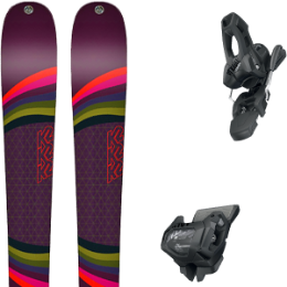 Pack ski K2 K2 MISSCONDUCT 19 + TYROLIA ATTACK² 11 GW W/O BRAKE [L] SOLID BLACK 20 - Ekosport