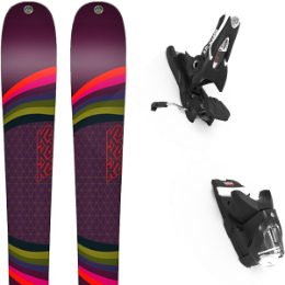 Pack ski K2 K2 MISSCONDUCT 19 + LOOK SPX 12 GW B90 BLACK 21 - Ekosport