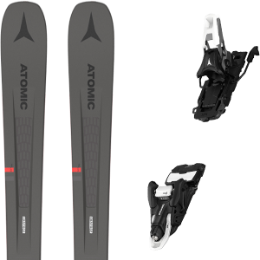 Pack ski ATOMIC ATOMIC VANTAGE 90 TI GREY/RED 21 + ATOMIC SHIFT 10 MNC N BLACK/WHITE 90 21 - Ekosport