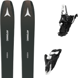 Pack ski ATOMIC ATOMIC BACKLAND WMN 98 ANTHRACITE 21 + ATOMIC SHIFT 10 MNC N BLACK/WHITE 100 21 - Ekosport