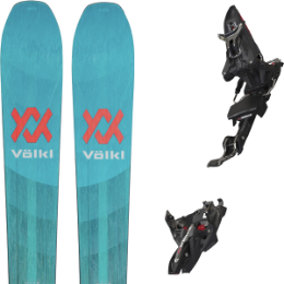 VOLKL RISE ABOVE 88 21 + MARKER KINGPIN MWERKS 12 75-100MM BLK/RED 20