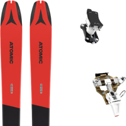 Pack ski ATOMIC ATOMIC BACKLAND 78 RED/GREY 21 + DYNAFIT SPEED TURN 2.0 BRONZE/BLACK 21 - Ekosport