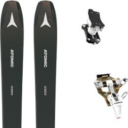 Pack ski ATOMIC ATOMIC BACKLAND WMN 98 ANTHRACITE 21 + DYNAFIT SPEED TURN 2.0 BRONZE/BLACK 21 - Ekosport