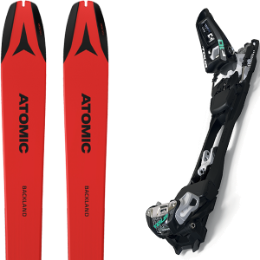 Pack ski ATOMIC ATOMIC BACKLAND 78 UL RED/BLACK 21 + MARKER F10 TOUR BLACK/WHITE 20 - Ekosport