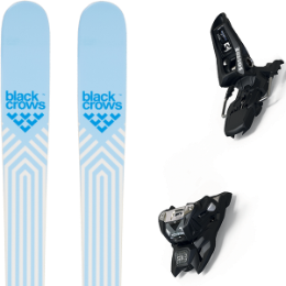 Pack ski BLACK CROWS BLACK CROWS CAPTIS BIRDIE 21 + MARKER SQUIRE 11 ID BLACK 21 - Ekosport