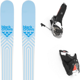 Pack ski BLACK CROWS BLACK CROWS CAPTIS BIRDIE 21 + LOOK PIVOT 12 GW B95 BLACK/ICON 21 - Ekosport