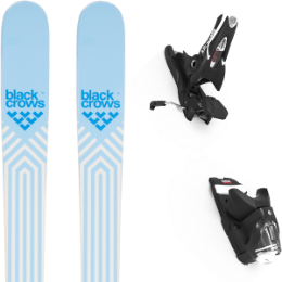 Boutique BLACK CROWS BLACK CROWS CAPTIS BIRDIE 21 + LOOK SPX 12 GW B90 BLACK 21 - Ekosport