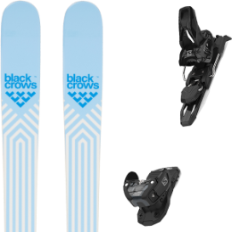 BU Ski Alpin BLACK CROWS BLACK CROWS CAPTIS BIRDIE 21 + SALOMON WARDEN MNC 11 BLACK L90 21 - Ekosport