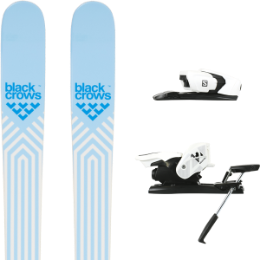 Pack ski BLACK CROWS BLACK CROWS CAPTIS BIRDIE 21 + SALOMON Z12 B90 WHITE/BLACK 21 - Ekosport