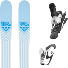 Boutique BLACK CROWS BLACK CROWS CAPTIS BIRDIE 21 + SALOMON Z12 B100 WHITE/BLACK 21 - Ekosport