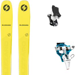 Boutique BLIZZARD BLIZZARD ZERO G 085 21 + DYNAFIT SPEED TURN 2.0 BLUE/BLACK 21 - Ekosport