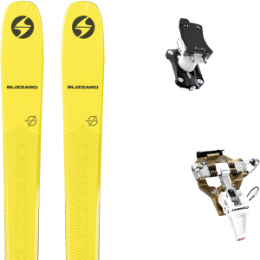 Pack ski BLIZZARD BLIZZARD ZERO G 085 21 + DYNAFIT SPEED TURN 2.0 BRONZE/BLACK 21 - Ekosport