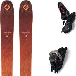 Pack ski BLIZZARD BLIZZARD COCHISE 106 21 + MARKER DUKE PT 12 125MM BLACK/RED 21 - Ekosport