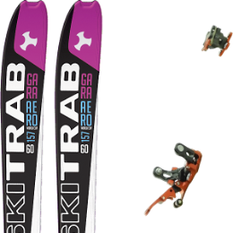 SKI TRAB GARA AERO WC WOMAN FLEX 60 19 + PLUM R121 21