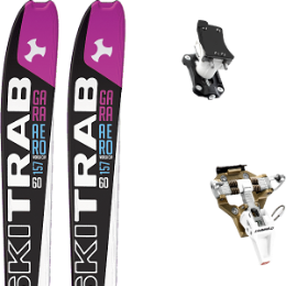 SKI TRAB GARA AERO WC WOMAN FLEX 60 19 + DYNAFIT SPEED TURN 2.0 BRONZE/BLACK 20