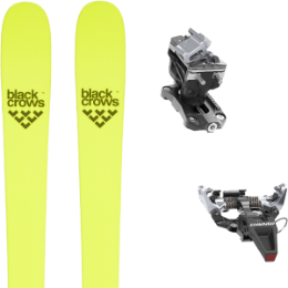 BU FR BLACK CROWS BLACK CROWS ORB FREEBIRD 21 + DYNAFIT SPEED RADICAL SILVER 21 - Ekosport
