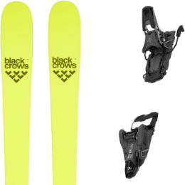 Collection BLACK CROWS BLACK CROWS ORB FREEBIRD 21 + SALOMON S/LAB SHIFT MNC 10 N BLACK SH90 21 - Ekosport