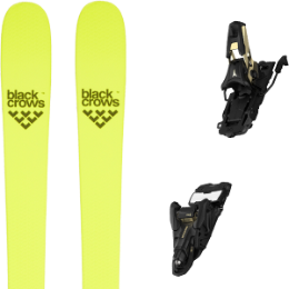 Collection BLACK CROWS BLACK CROWS ORB FREEBIRD 21 + ATOMIC SHIFT 13 MNC N BLACK/GOLD 90 21 - Ekosport