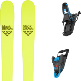 Pack ski BLACK CROWS BLACK CROWS ORB FREEBIRD 21 + SALOMON S/LAB SHIFT MNC 13 N BLACK/BLUE SH90 21 - Ekosport