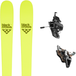 Pack ski BLACK CROWS BLACK CROWS ORB FREEBIRD 21 + DYNAFIT ST RADICAL TURN 95 BLACK 21 - Ekosport