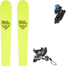 BU FR BLACK CROWS BLACK CROWS ORB FREEBIRD 21 + SALOMON MTN PURE BLACK/BLUE + BRAKE G90 21 - Ekosport