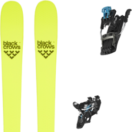 Pack ski BLACK CROWS BLACK CROWS ORB FREEBIRD 21 + SALOMON MTN TOUR BLACK/BLUE G90 21  - Ekosport