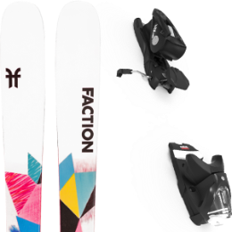 BU SKI FACTION FACTION PRODIGY 1.0 X 21 + LOOK NX 12 GW B90 BLACK 21 - Ekosport