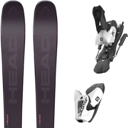 HEAD KORE 87 W GR/BE 21 + SALOMON Z12 B100 WHITE/BLACK 21