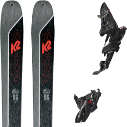 Collection K2 K2 WAYBACK 96 21 + MARKER KINGPIN MWERKS 12 75-100MM BLK/RED 20 - Ekosport
