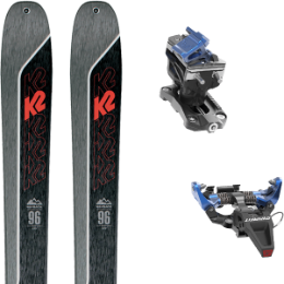 Collection K2 K2 WAYBACK 96 21 + DYNAFIT SPEED RADICAL BLUE 21 - Ekosport