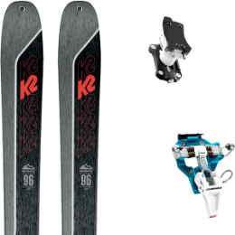Boutique K2 K2 WAYBACK 96 21 + DYNAFIT SPEED TURN 2.0 BLUE/BLACK 21 - Ekosport