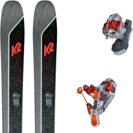 Pack ski K2 K2 WAYBACK 96 21 + G3 ION LT 12 WITH LEASH 20 - Ekosport