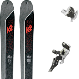 Boutique K2 K2 WAYBACK 96 21 + PLUM GUIDE 12 GRIS 20  - Ekosport