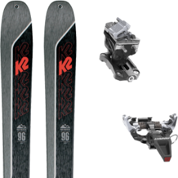 Boutique K2 K2 WAYBACK 96 21 + DYNAFIT SPEED RADICAL SILVER 21 - Ekosport